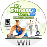 My Fitness Coach 2: Exercise & Nutrition Wii disc (RU4E41)