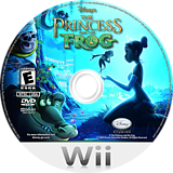 The Princess and the Frog Wii disc (RU5E4Q)