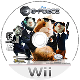 G-Force Wii disc (RUEE4Q)