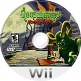 Goosebumps: HorrorLand Wii disc (RUGE7T)