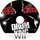 Rolling Stone: Drum King Wii disc (RUKEGT)