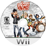 Ultimate Band Wii disc (RULE4Q)