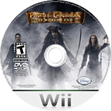 Pirates of the Caribbean: At World's End Wii disc (RW3E4Q)