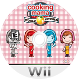 Cooking Mama: World Kitchen Wii disc (RWKE5G)