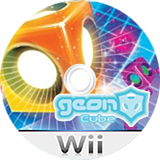 Geon Cube Wii disc (RXGE6K)