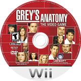 Grey's Anatomy: The Video Game Wii disc (RXLE41)