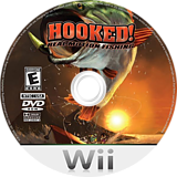 Hooked!: Real Motion Fishing Wii disc (RXPEXS)