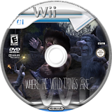 Where the Wild Things Are Wii disc (RXQEWR)