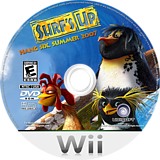 Surf's Up Wii disc (RXUE41)