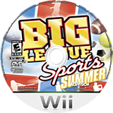 Big League Sports: Summer Wii disc (RY5E52)