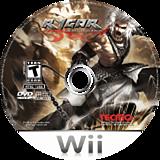 Rygar: The Battle of Argus Wii disc (RYGE9B)