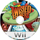 Roogoo: Twisted Towers Wii disc (RYHES5)