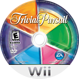 Trivial Pursuit Wii disc (RYQE69)