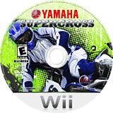 Yamaha Supercross Wii disc (RYXE20)