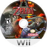 The Legend of Zelda: Twilight Princess Wii disc (RZDE01)