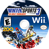 Winter Sports 3: The Great Tournament Wii disc (RZIE20)