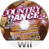 Country Dance 2 Wii disc (S2BEPZ)