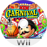 New Carnival Games Wii disc (S2CE54)