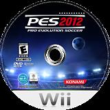 Pro Evolution Soccer 2012 Wii disc (S2PEA4)