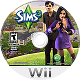 The Sims 3 Wii disc (S3ME69)