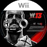 WWE '13 Wii disc (S3XE78)