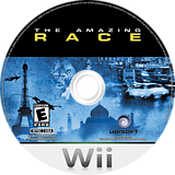 The Amazing Race Wii disc (SAGE41)