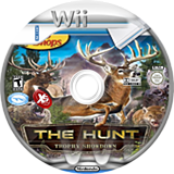 Bass Pro Shops: The Hunt - Trophy Showdown Wii disc (SANEFS)