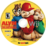 Alvin and the Chipmunks: The Squeakquel Wii disc (SAVE5G)