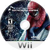 The Amazing Spider-Man Wii disc (SAZE52)