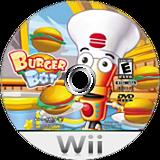 Burger Bot Wii disc (SB8EQH)