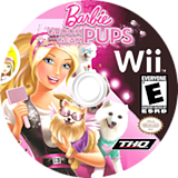 Barbie: Groom and Glam Pups Wii disc (SB9E78)