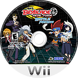 Beyblade: Metal Fusion - Battle Fortress Wii disc (SBBE18)