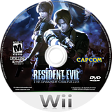Resident Evil: The Darkside Chronicles Wii disc (SBDE08)