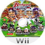 Backyard Football '10 Wii disc (SBFE70)
