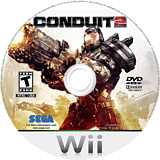 Conduit 2 Wii disc (SC2E8P)