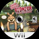 Calvin Tucker's Redneck: Farm Animal Racing Tournament Wii disc (SCGE20)