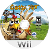 Chicken Riot Wii disc (SCREJH)