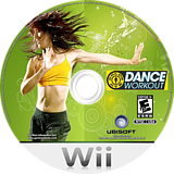 Gold's Gym: Dance Workout Wii disc (SCWE41)