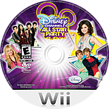 Disney Channel: All Star Party Wii disc (SDGE4Q)