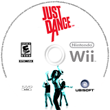 Just Dance Wii disc (SDNE41)