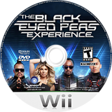 The Black Eyed Peas Experience Wii disc (SEPE41)