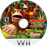 Donkey Kong Country Returns Wii disc (SF8E01)