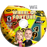 Wheel of Fortune Wii disc (SFTE78)