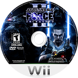 Star Wars: The Force Unleashed II Wii disc (SFUE64)
