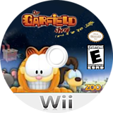 The Garfield Show: Threat of the Space Lasagna Wii disc (SG7E20)