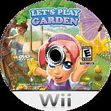 Let's Play Garden Wii disc (SGDEJJ)
