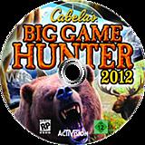 Cabela's Big Game Hunter 2012 Wii disc (SH6E52)