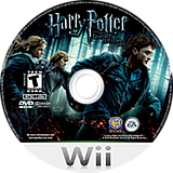 Harry Potter and the Deathly Hallows, Part 1 Wii disc (SHHE69)