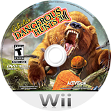 Cabela's Dangerous Hunts 2011: Special Edition Wii disc (SHUE52)