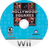 Hollywood Squares Wii disc (SHWE41)